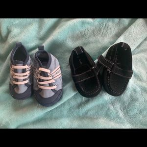2 Pairs of Baby Boy Shoes, Excellent Condition!